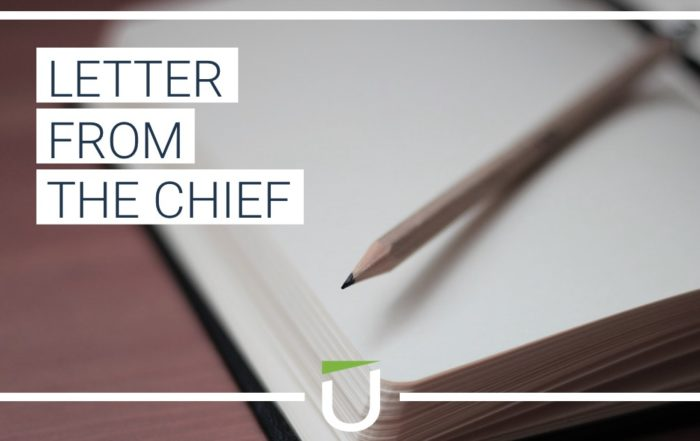 letter from the chief exec